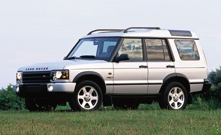 land rover discovery hse7 instrumented test car and driver. Black Bedroom Furniture Sets. Home Design Ideas