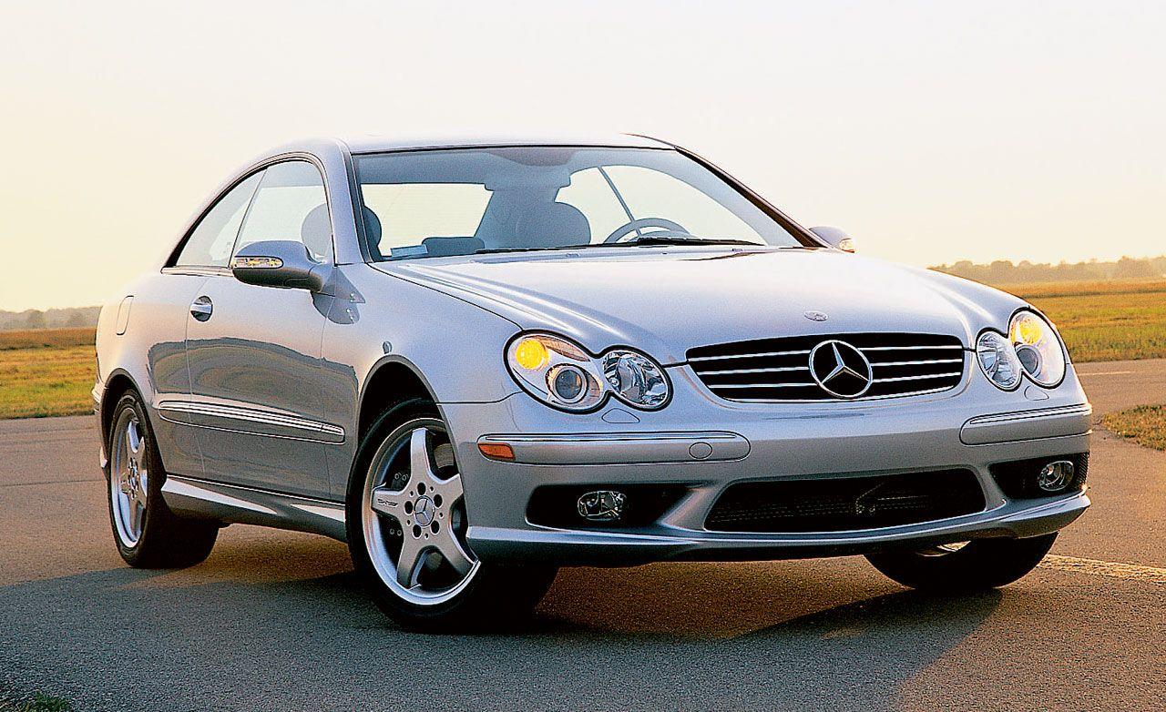 mercedes benz clk500 rh caranddriver com 2003 mercedes clk 500 owners manual Mercedes SLK 500
