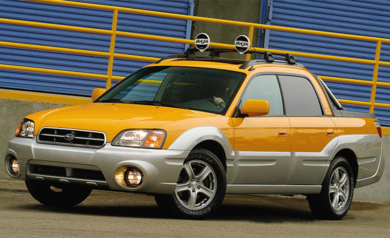 Subaru Baja | First Drive Review | Reviews | Car and Driver