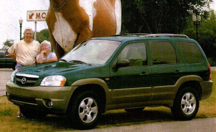 2001 Mazda Tribute ES V-6 4WD