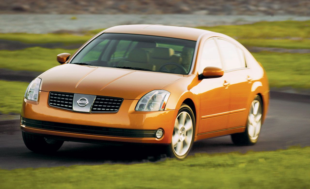 2004 nissan maxima 3.5se | road test | reviews | car and driver
