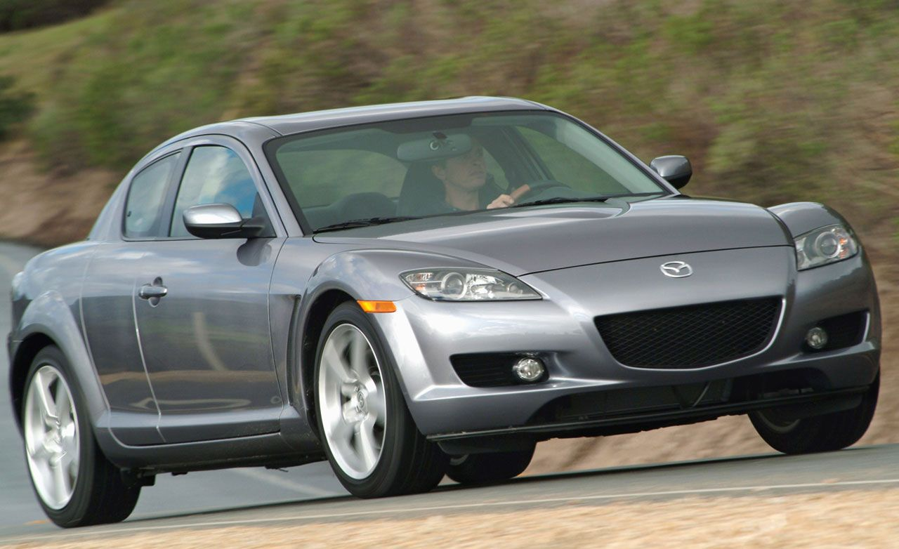 2007 mazda rx 8 horsepower