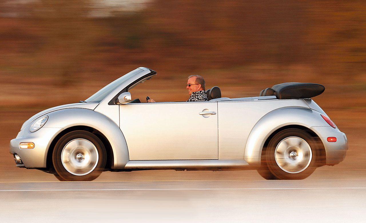 2003 volkswagen beetle convertible reviews