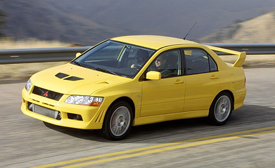 2004 Mitsubishi Evolution VIII