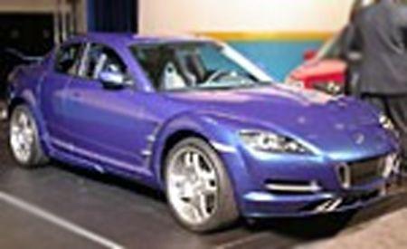 Mazda RX-8 X-Men Car