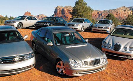 2003 Audi A6 2.7T Quattro vs. BMW 530i, Infiniti M45, Jaguar S-type 3.0, Lexus GS300, Lincoln LS V-8, M-B E320