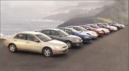 2003 Dodge Stratus Vs. Honda Accord, Hyundai Sonata, Kia Optima, And Six  More Mid Size Sedans