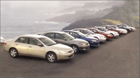 2003 Dodge Stratus vs. Honda Accord, Hyundai Sonata, Kia Optima, and Six More Mid-Size Sedans