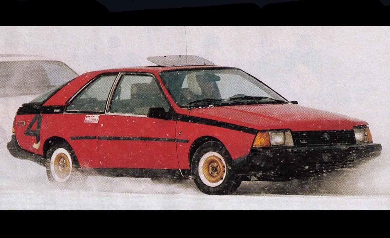 1983 Renault Fuego 1.6 Turbo