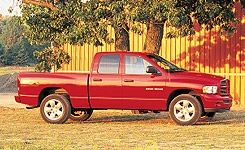 2002 Dodge Ram 1500 Quad Cab 4x4 SLT Plus Sport