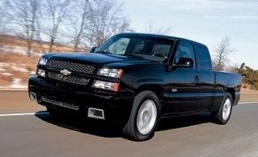 2003 chevrolet silverado ss road test. Black Bedroom Furniture Sets. Home Design Ideas