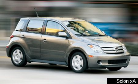 2004 Scion Xa And Xb First Drive Review