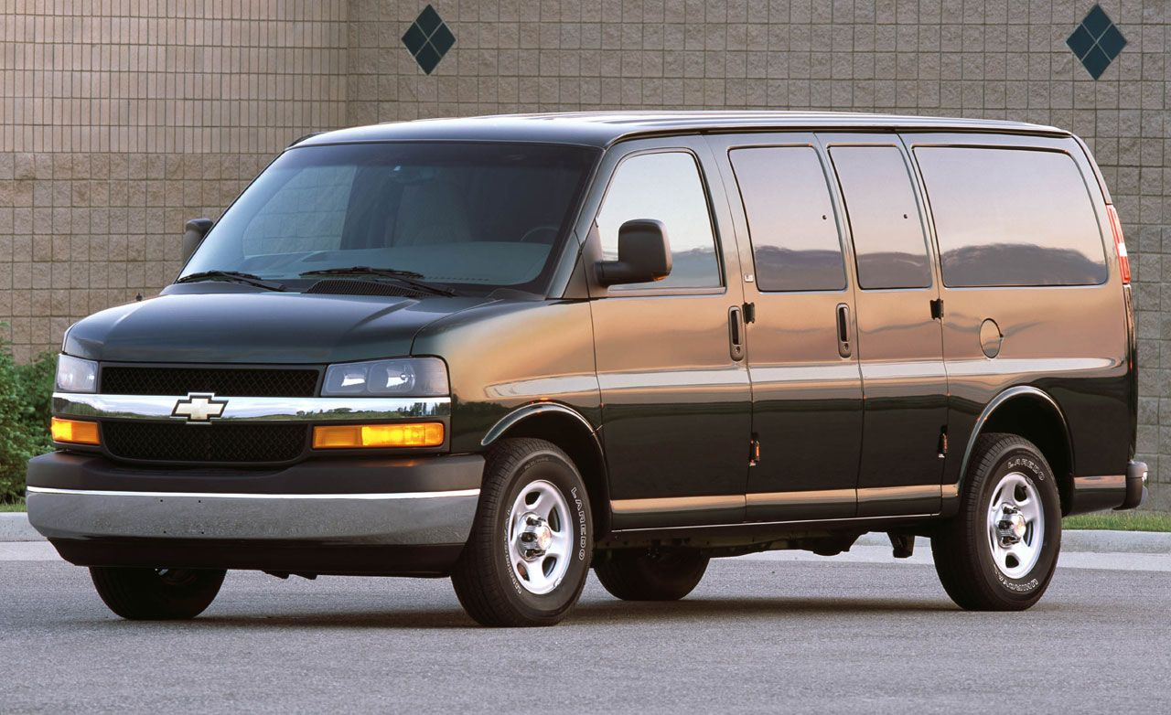 chevy express awd short take road test rh caranddriver com 2006 Chevrolet Express Problems 2006 Chevrolet Express G1500