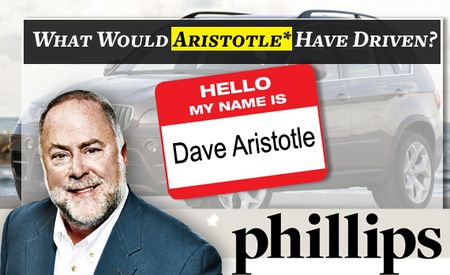 What Would Aristotle* Have Driven? (*Dave Aristotle)