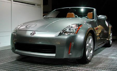 Nissan 350Z Roadster - News - Car and Driver