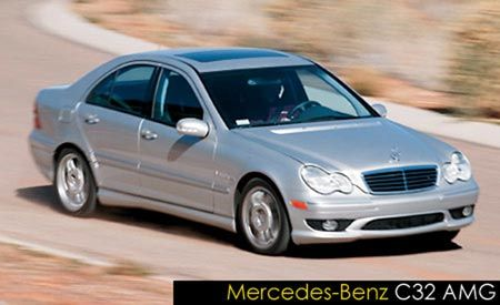 2003 Mercedes-Benz C32 AMG