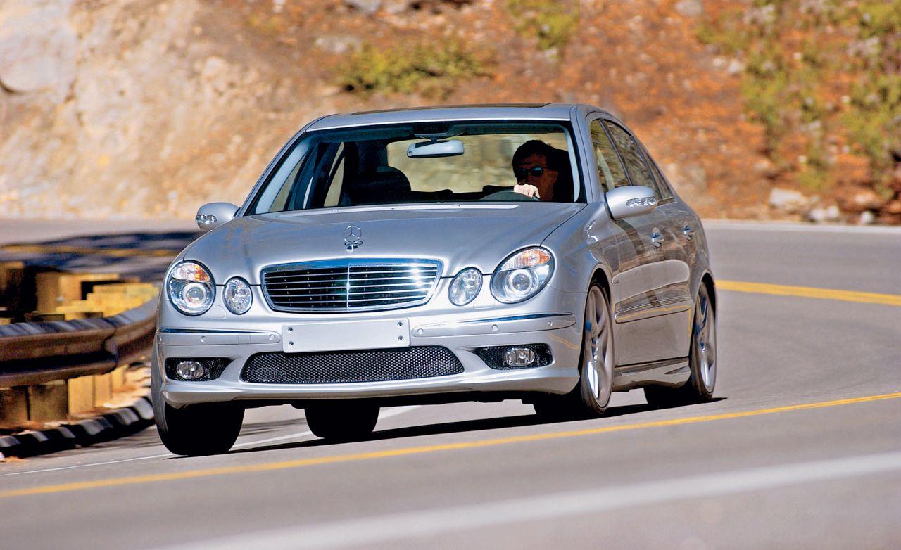 All Types 2003 mercedes e55 amg : 2003 Audi RS 6 vs. BMW M5, Jaguar S-type R, M-B E55 AMG ...