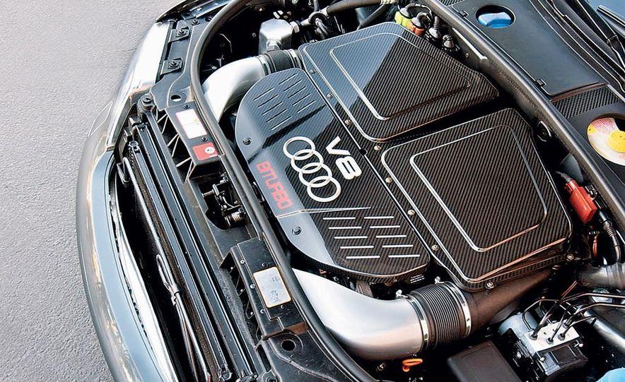 2003 Jaguar S-type R, BMW M5, Audi RS6, and Mercedes-Benz E55 AMG - Slide 10