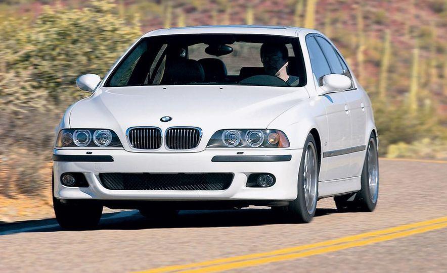 2003 Jaguar S-type R, BMW M5, Audi RS6, and Mercedes-Benz E55 AMG - Slide 11