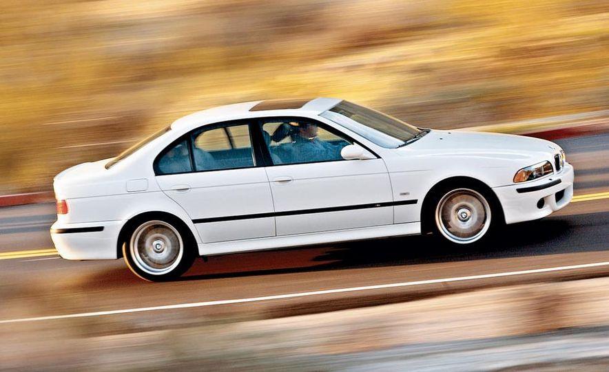 2003 Jaguar S-type R, BMW M5, Audi RS6, and Mercedes-Benz E55 AMG - Slide 12