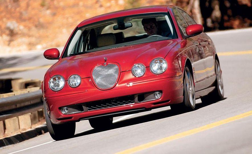 2003 Jaguar S-type R, BMW M5, Audi RS6, and Mercedes-Benz E55 AMG - Slide 15