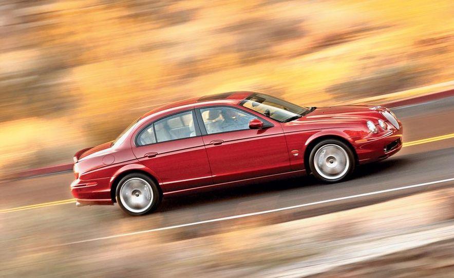 2003 Jaguar S-type R, BMW M5, Audi RS6, and Mercedes-Benz E55 AMG - Slide 16