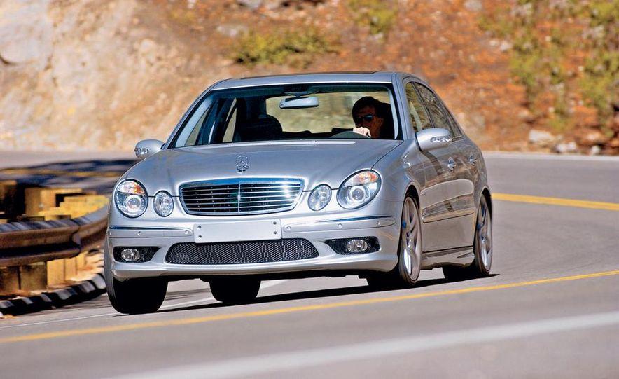 2003 Jaguar S-type R, BMW M5, Audi RS6, and Mercedes-Benz E55 AMG - Slide 17