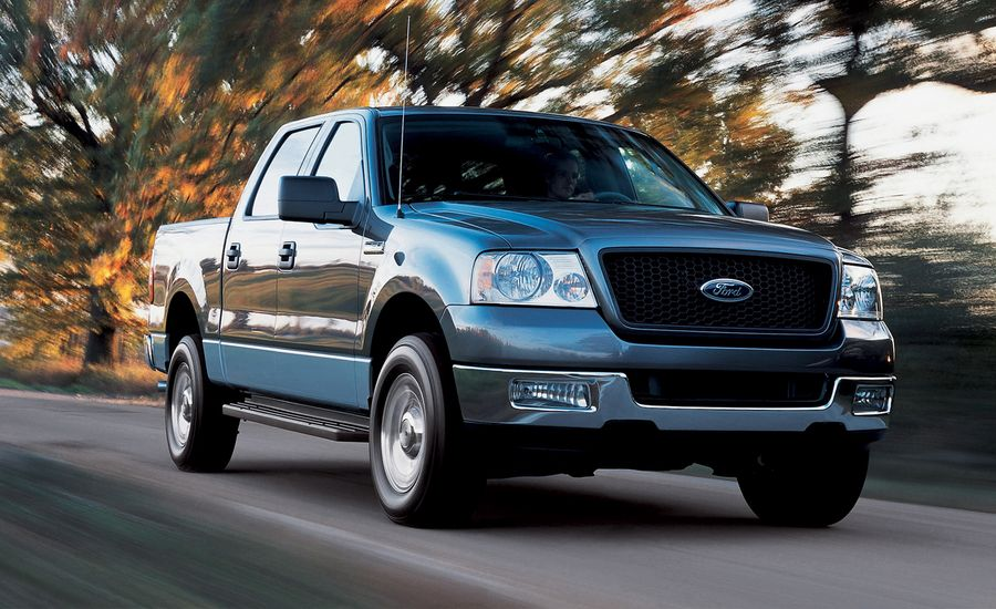 Ford F Road Test Review Car And Driver - 2004 f150
