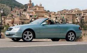 2004 MercedesBenz CLKclass Cabriolet  First Drive Review