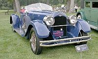 1927 Duesenberg Model X Sports Roadster