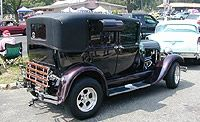 1929 Ford Model A Leatherback