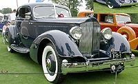1934 Packard V-12 LeBaron Sport Coupe