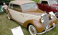 1950 Mercedes-Benz 170S Cabriolet B