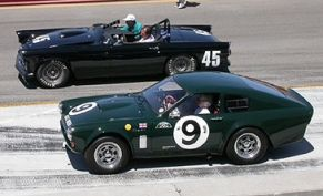 1964 Sunbeam Tiger Harrington LeMans Coupe & 1956 Ford Thunderbird Daytona