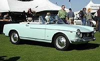 1967 Fiat 1600S Convertible