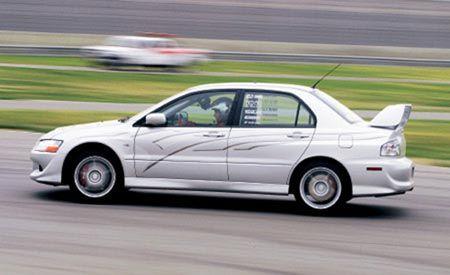 2003 Rhys Millen Racing Mitsubishi Lancer Evolution