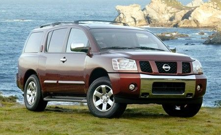 Nissan Pathfinder Armada LE