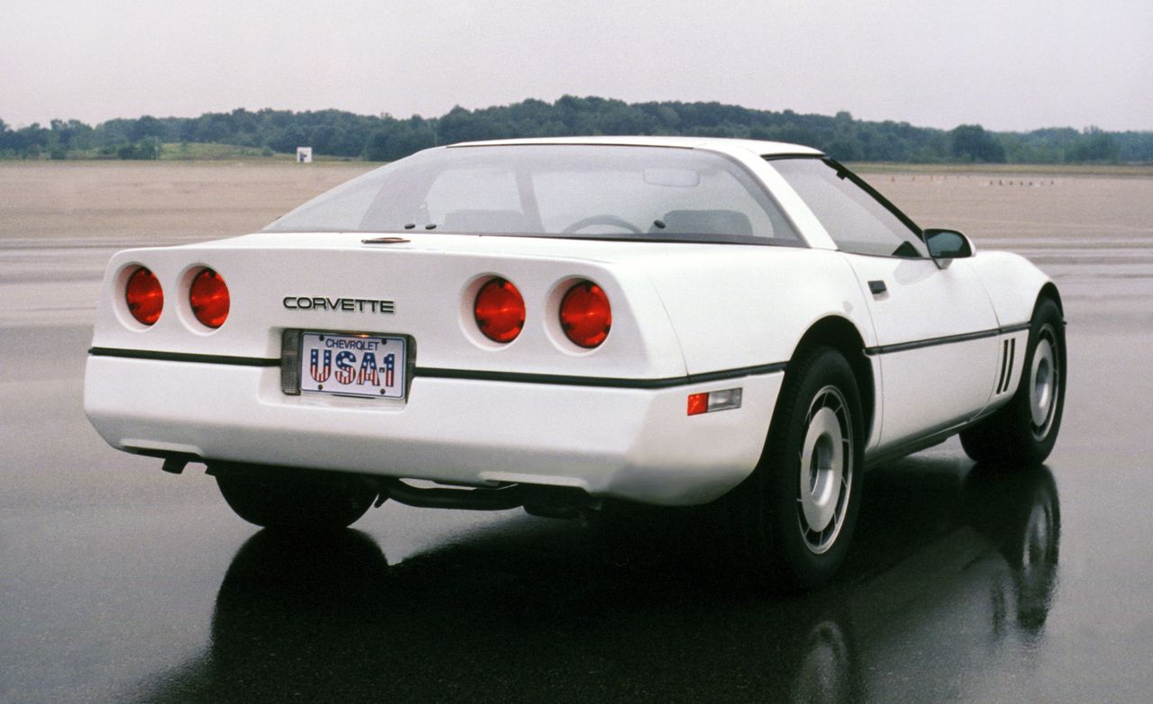 Corvette Chronology 1980s