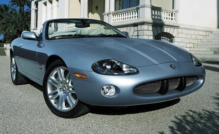 2004 Jaguar XK8 convertible