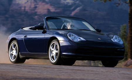 2004 Porsche 911 Carrera 4 Cabrio