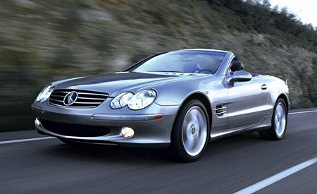 mercedes benz sl600 instrumented test car and driver. Black Bedroom Furniture Sets. Home Design Ideas