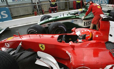 Wanna Buy Schuey's F1 Car?