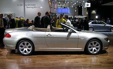 BMW Ci Convertible Auto Shows News Car And Driver - 2004 bmw 645 convertible for sale