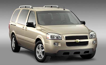 Chevrolet Uplander/Pontiac Montana SV6