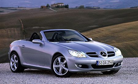view front motor quick mercedes class cars benz trend slk test
