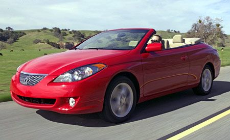toyota camry solara convertible. Black Bedroom Furniture Sets. Home Design Ideas