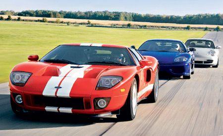2004 Ferrari Challenge Stradale vs. Ford GT, Porsche 911 GT3