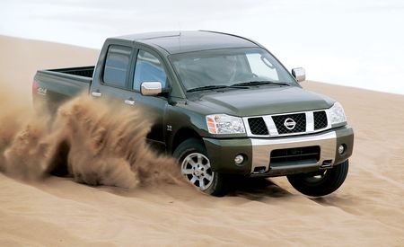2004 Nissan Titan SE Crew Cab
