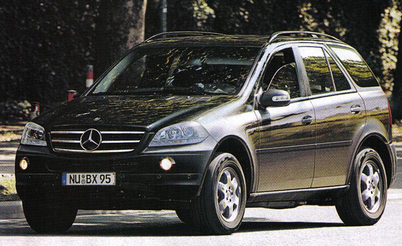 Mercedes-Benz M-class, G-class, S-class