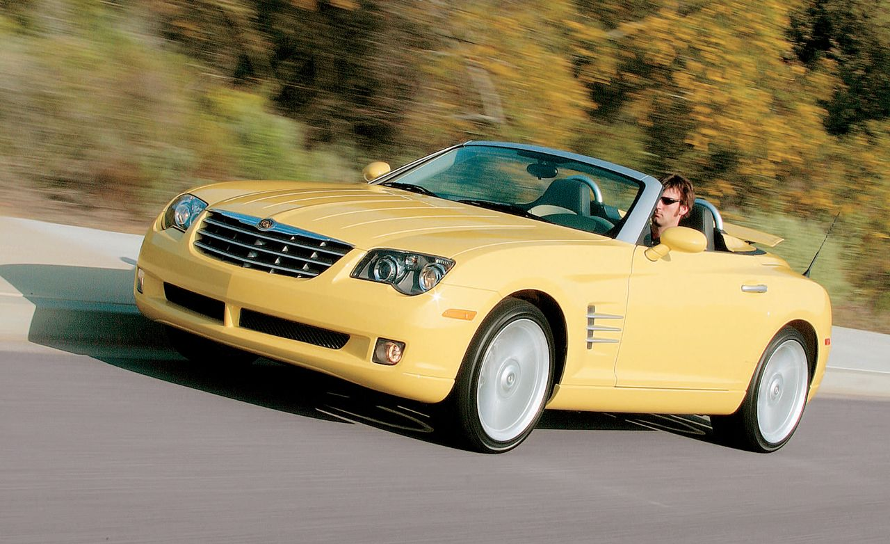 2005 chrysler crossfire roadster road test review car. Black Bedroom Furniture Sets. Home Design Ideas